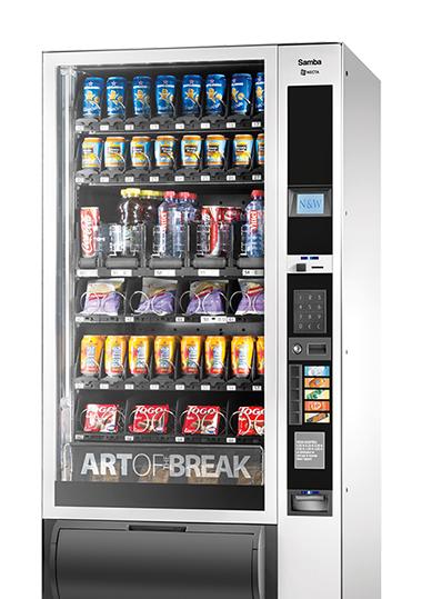 Máquina Expendedora de Snacks y Bebidas Frías - Samba